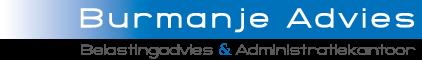 Logo Burmanje Advies. Belastingadvies en Administratiekantoor